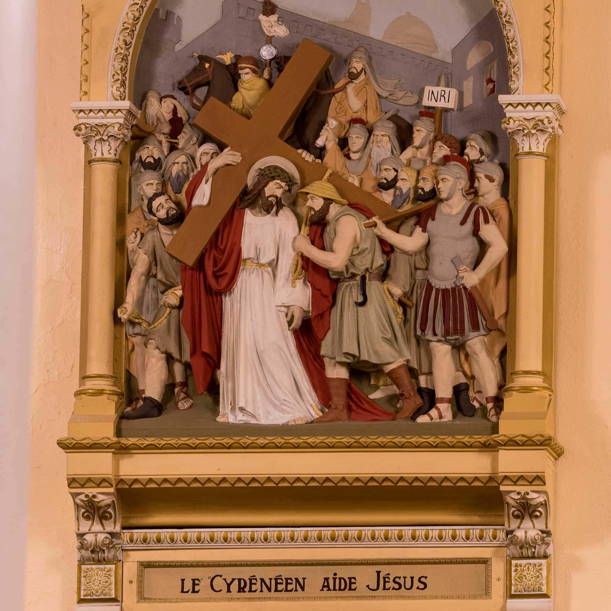 05 chemin de croix cathedrale saint jerome