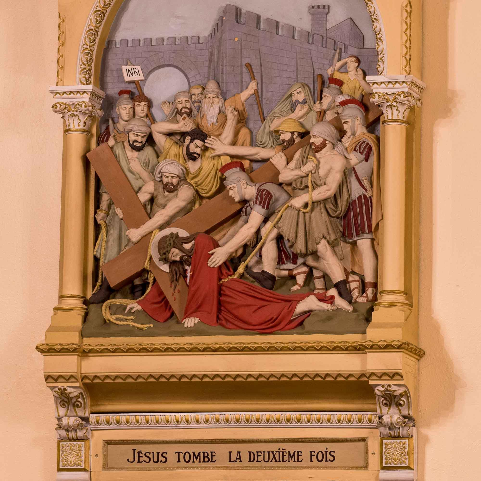 07 chemin de croix cathedrale saint jerome