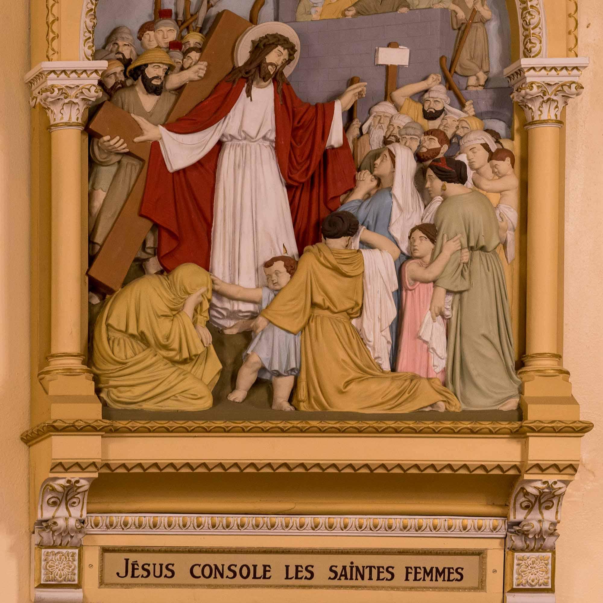 08 chemin de croix cathedrale saint jerome