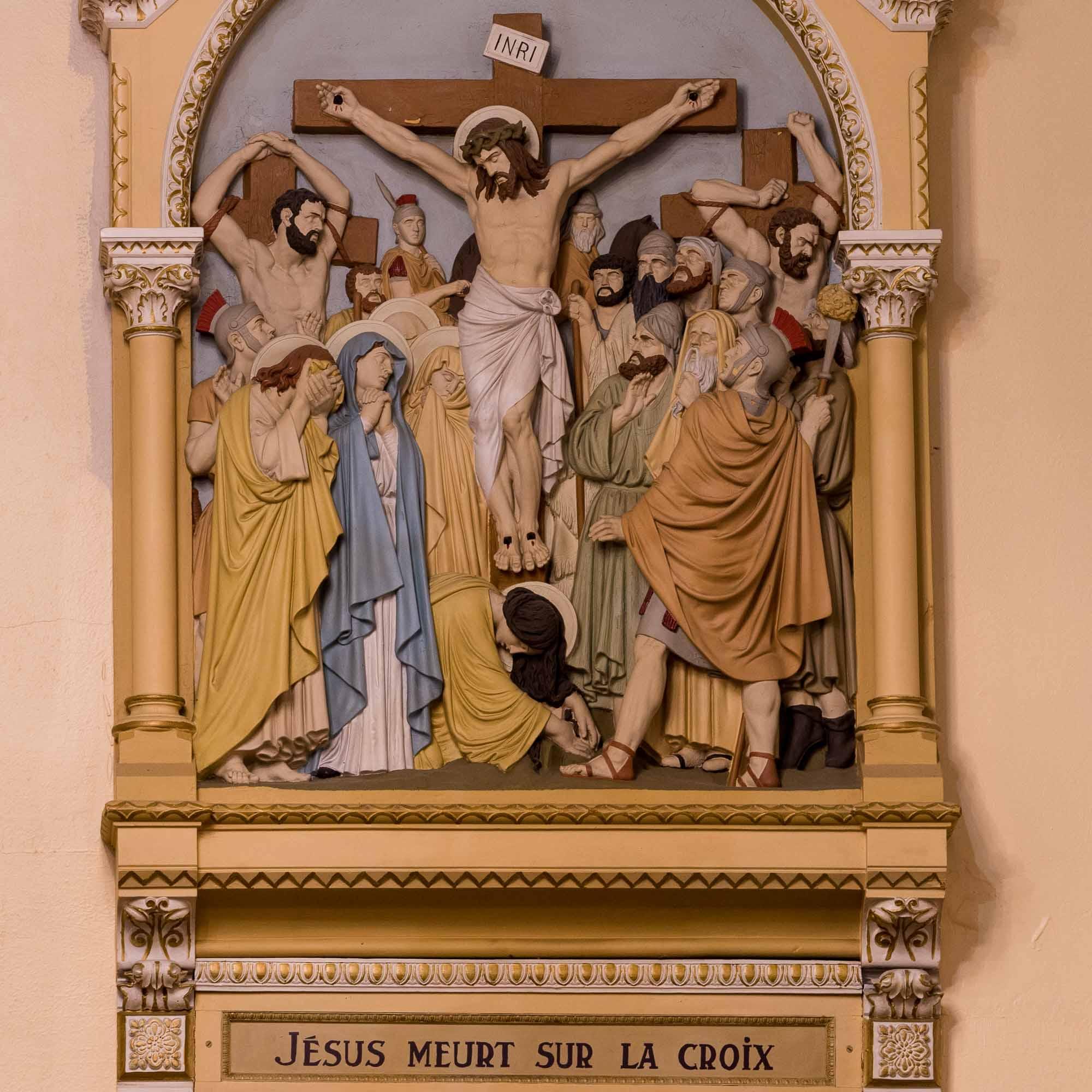 12 chemin de croix cathedrale saint jerome