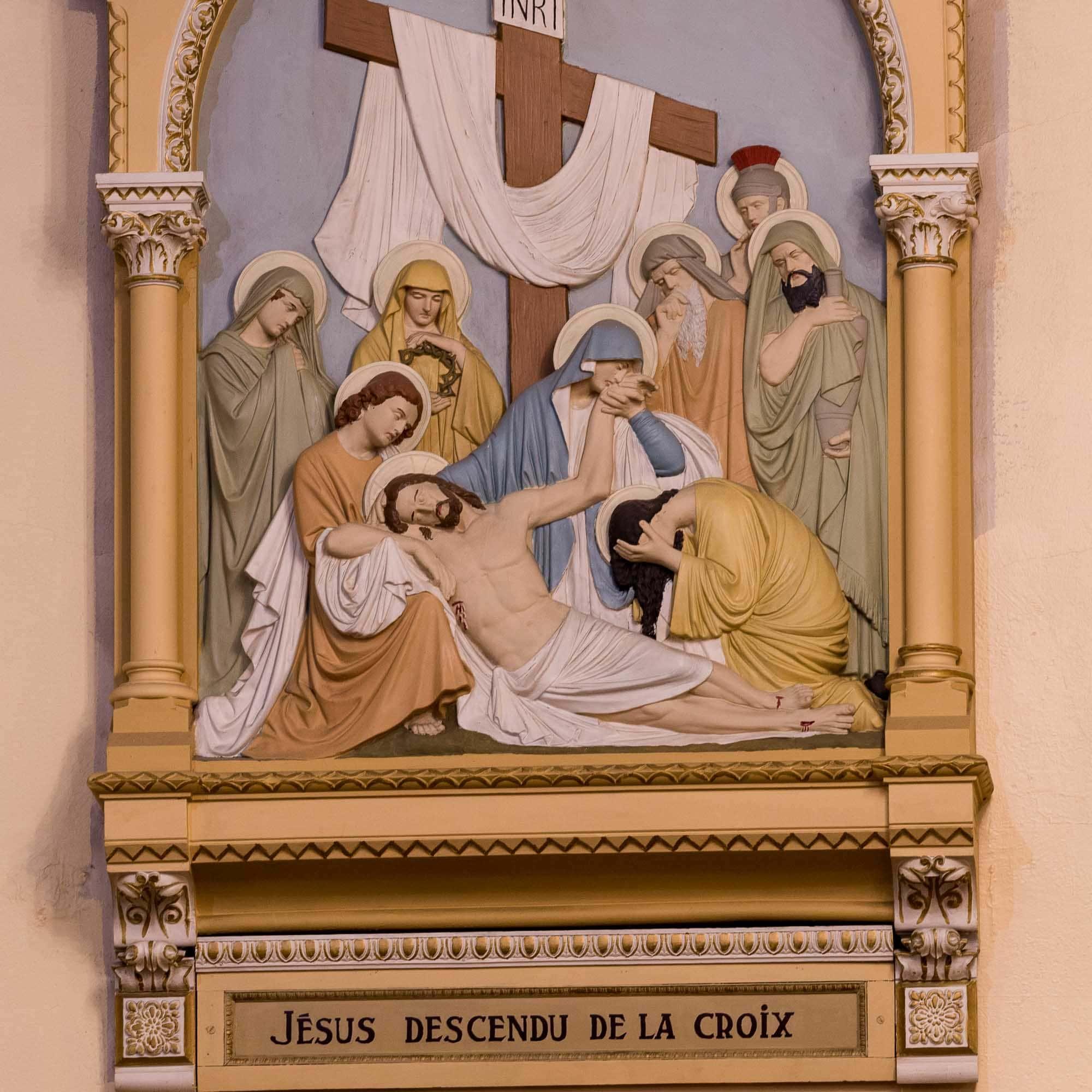 13 chemin de croix cathedrale saint jerome