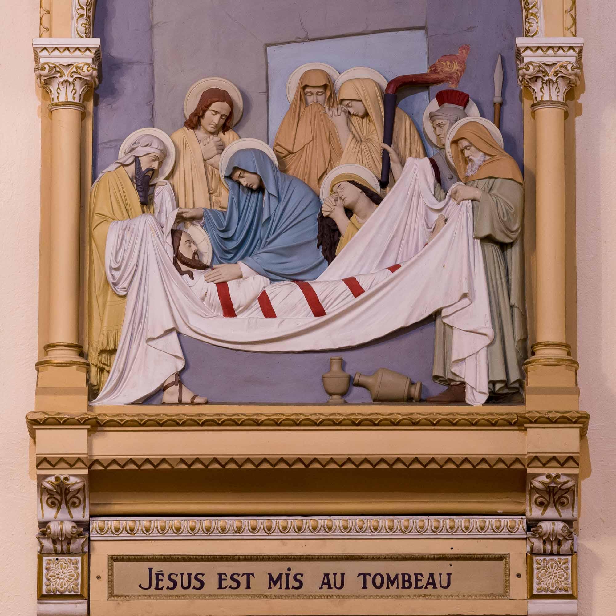 14 chemin de croix cathedrale saint jerome