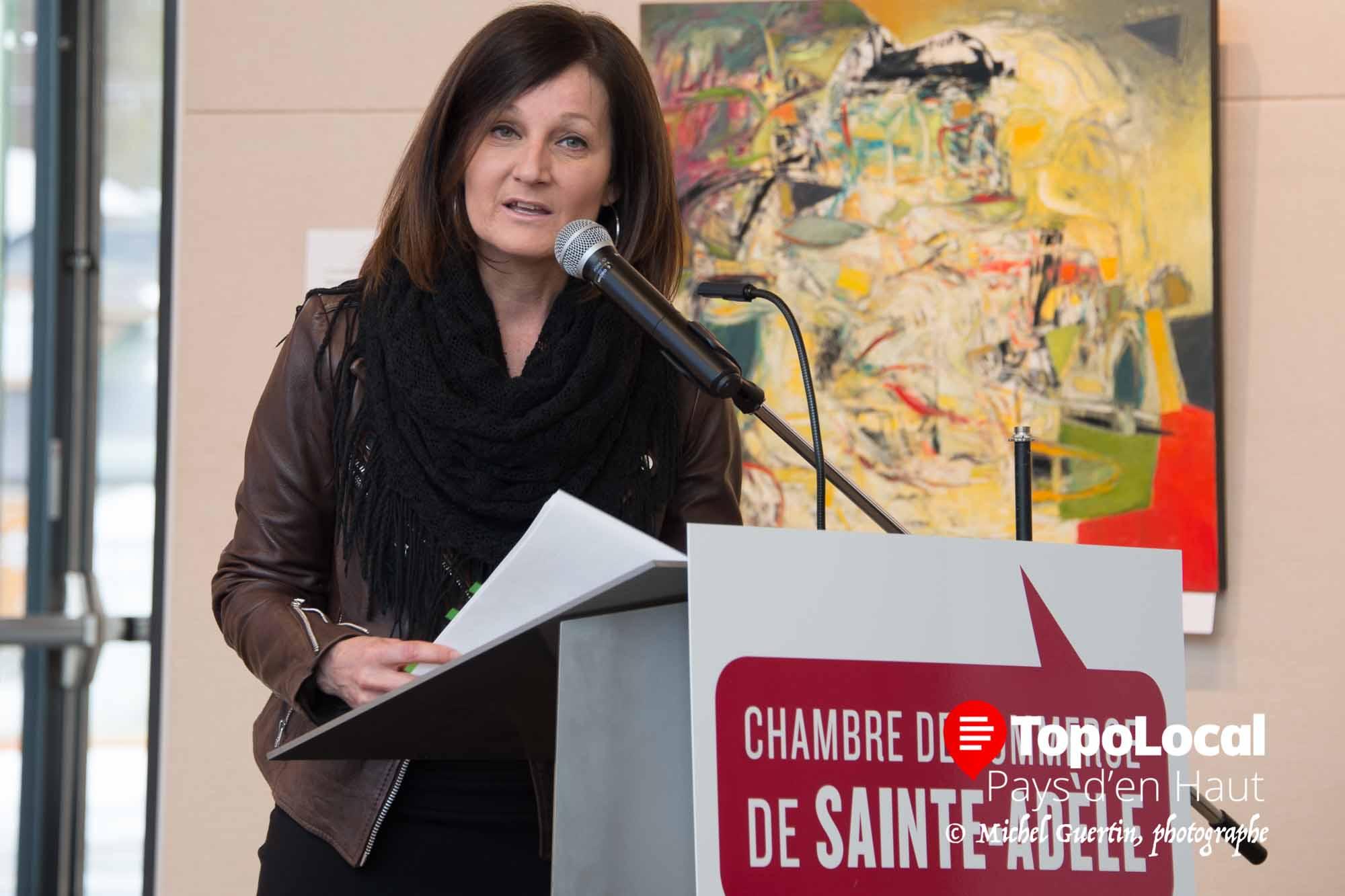 C'est Lise Guay du bureau compatble Amyot Gélinas qui a fait la présentation des états financiers. Ce même bureau a été reconduit comme vérificateur de la hambre pour les prochaines années.