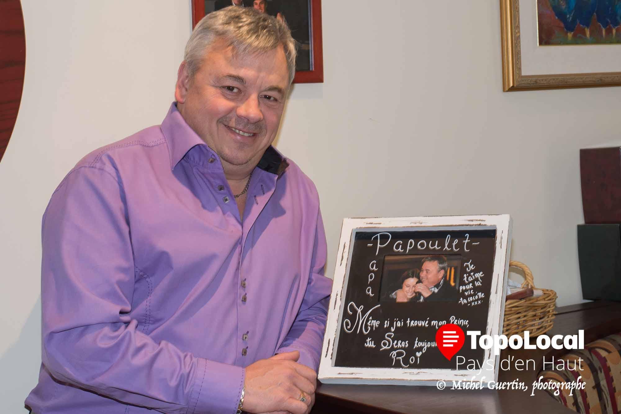 Michel Rochon, avec St-Hubert depuis plus de 37 ans, a maintenant une relève familiale.