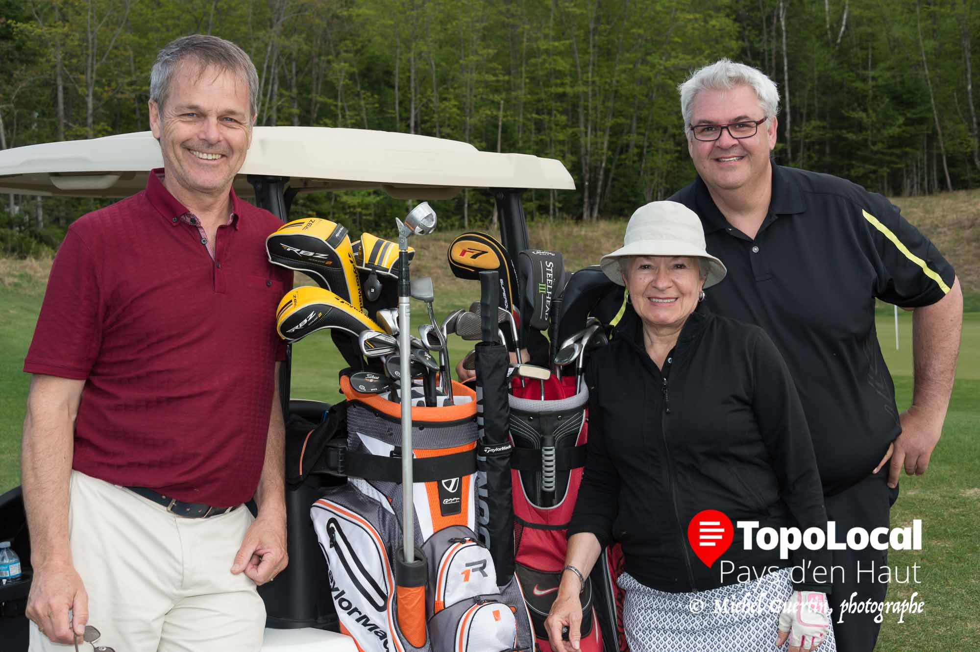 Mes compagnons de jeu pour ce tournoi furent Jean Morrissette, Lucie Létourneau et Sylvain Labelle. Merci à vous pour cette belle journée.