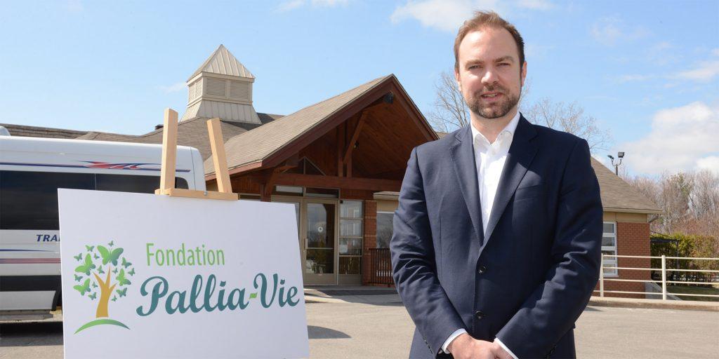 Le journaliste sportif Frédéric Lord est le nouveau porte-parole de la Fondation Pallia-Vie.