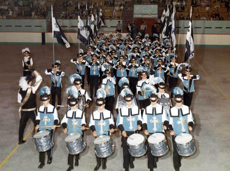 Les Mousquetaires de Saint-Jérôme, en 1968.