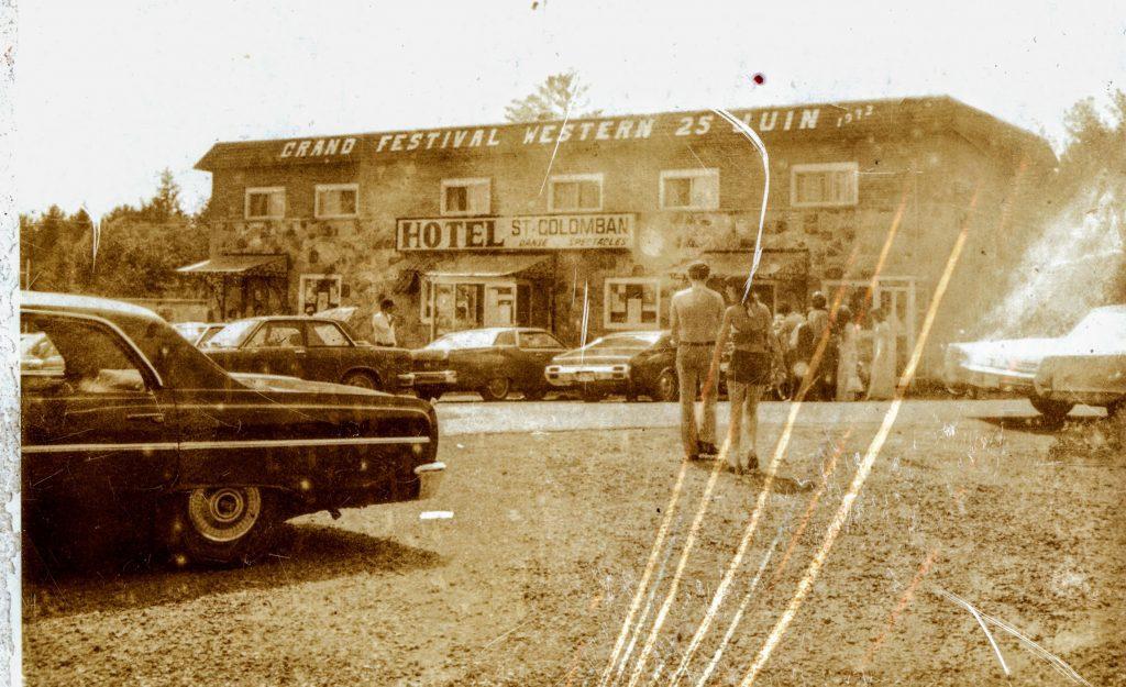 L'Hôtel Saint-Colomban était toujours une destination populaire, au début des années 1970.
