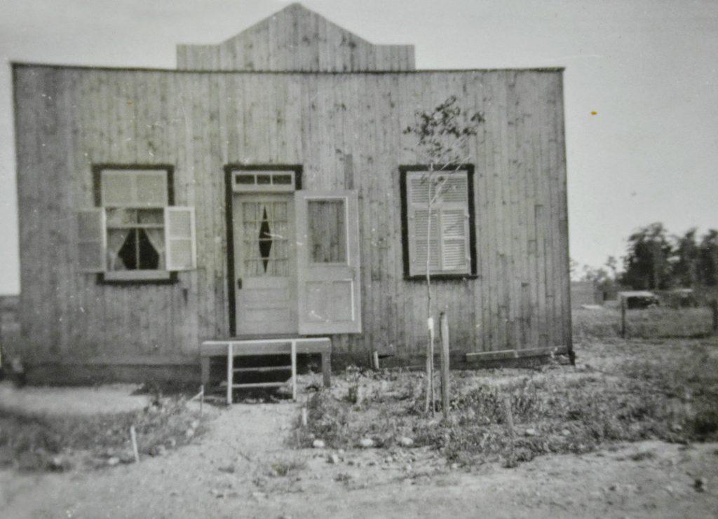Une maison de la rue Latour, il y a longtemps...