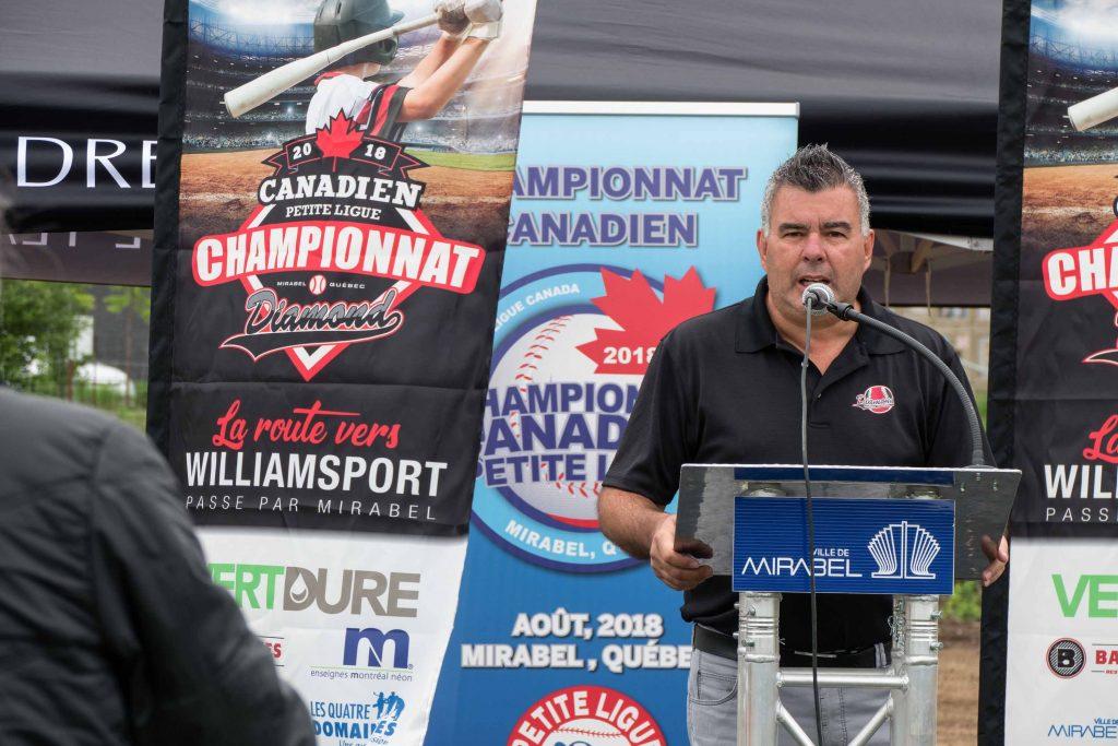 Daniel Proulx a fait en sorte que les jeunes aient un espace exceptionnel pour jouer au baseball.