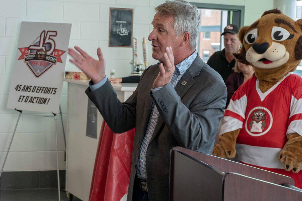 Le maire suppléant de Saint-Jérôme Gilles Robert a salué l'effort de tous pour garantir le succès d'un tel événement.